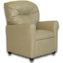 Contemporary Children�s Recliner, Kids Upholstered Chairs | Personalized Upholstered Chairs | ABaby.com