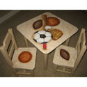 Play Ball Handpainted Table and Chair Set