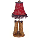 Cowboy Lamp, Wild West, Western, Cowboy Themed Furniture, Decor For Childrens Rooms and Baby's Nursery.