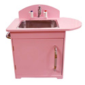 Retro Kid's Sink, Kids Play Kitchen Sets | Childrens Play Kitchens | ABaby.com
