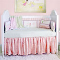 Embroidered Princess Crib Bedding, Fairy Themed Bedding | Baby Bedding | ABaby.com