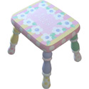 Daisy Stool, Personalized Kids Step Stools | Step Stools for Toddlers | ABaby.com