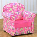 Daisy Doodle Jill Chair, Kids Upholstered Chairs | Personalized Toddler Couch | Rocker | Recliner