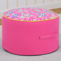 Daisy Doodle Round Foam Ottoman, Buy Kids & Toddler Chairs Online | Recliner | Rocking Chairs | Armchairs