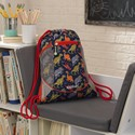 Drawstring Backpack - Dinosaur