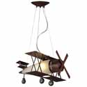 Biplane Fighter Pendant, Pendant Light | Drum Pendant Lighting | ABaby.com