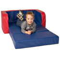 Kid's Open-Up Sofa, Kids Bean Bag Chairs | Kids Chairs | ABaby.com