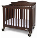 Royal Compact Size Folding Crib, Antique Baby Crib | Cradle | Designer Convertible Cribs | ABaby.com