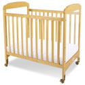 Serenity Compact Fixed-Side Crib, Antique Baby Crib | Cradle | Designer Convertible Cribs | ABaby.com