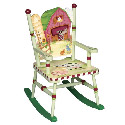 Children's Little Farmhouse Rocker, Farm Animals Themed Furniture | Baby Furniture | ABaby.com