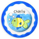 Fish Name Plate, Tropical Sea Themed Nursery | Tropical Sea Bedding | ABaby.com