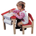 Art Table and Chair Set, Children Table And Chair Sets | Toddler Table And Chairs | ABaby.com