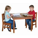 Mission Table & Chair Set, Children Table And Chair Sets | Toddler Table And Chairs | ABaby.com