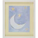 Over The Moon Artwork, Nursery Wall Art | Nursery Theme Wall Art | ABaby.com