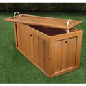 Outdoor/Indoor Wooden Toy Chest