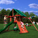 Sundance Swing Set, Kids Swing Sets | Childrens Outdoor Swing Sets | ABaby.com