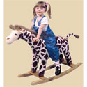 Giraffe Rocker, Kids Rocking Horse | Personalized Rocking Horses | ABaby.com