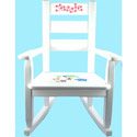 Personalized Jungle Rocking Chair, Kids Rocking Chairs | Kids Rocker | Kids Chairs | ABaby.com