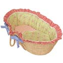 Lil' Rainbow Moses Basket, Moses Baskets With Stands | Baby Moses Baskets | ABaby.com