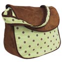 Dots Messenger Bag, Daddy Bags | Diaper Bags | ABaby.com
