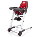 Zuma Gray High Chair, Baby High Chairs | Designer High Chairs | ABaby.com