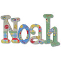 Beep Beep Wall Letters, Train Nursery Decor | Train Wall Decals | ABaby.com