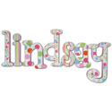 Bright and Cheerful Wall Letters, Girls Wall Letters | Kids Wall Letters For Nursery | ABaby.com