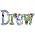 Road Work Wall Letters, Train Nursery Decor | Train Wall Decals | ABaby.com