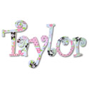 Taylor's Lady Bugs Wall Letters, Frogs And Bugs Nursery Decor | Frogs And Bugs Wall Decals | ABaby.com
