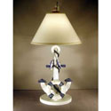 Anchor Table Lamp, Nautical Nursery Decor | Nautical Wall Decals | ABaby.com