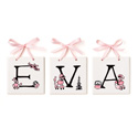 Lil' Poodles Name Tiles, Kids Wall Letters | Custom Wall Letters | Wall Letters For Nursery