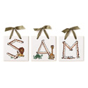 Lil' Safari Name Tiles, Kids Wall Letters | Custom Wall Letters | Wall Letters For Nursery