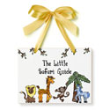Safari Just Because Plaque, Wall Plaque | Kids | Nursery | ABaby.com
