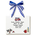 Surfer Birth Certificate, Wall Plaque | Kids | Nursery | ABaby.com