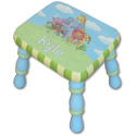 Jungle Stool, Personalized Kids Step Stools | Step Stools for Toddlers | ABaby.com
