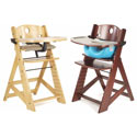 Height Right High Chair, Baby Feeding High Chairs | Booster Seats | Wooden | aBaby.com