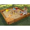 Backyard Sandbox, Kids Outdoor Furniture | Outdoor Table And Chair Sets | ABaby.com