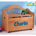 Personalized Limited Edition Honey Toy Box, Kids Storage Bins | Personalized Kids Toy Boxes | ABaby.com
