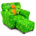 Dinosaur Train Club Chair, Kids Chairs | Personalized Kids Chairs | Comfy | ABaby.com