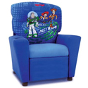 Toy Story Recliner, Kids Upholstered Chairs | Personalized | Couch | Armchair