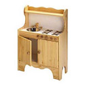 Kid's Wooden Stove, Kids Play Kitchen Sets | Childrens Play Kitchens | ABaby.com