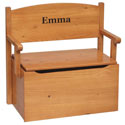Bench Toy Box, Kids Storage Bins | Personalized Kids Toy Boxes | ABaby.com