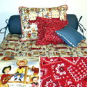 Cowboys & Heroes Twin Bedding