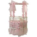 Baby Dear Heart Shaped Crib, Circular Cribs | Round Crib Sets | ABaby.com