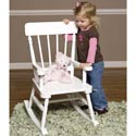 Simply Classic Rocker, Kids Rocking Chairs | Kids Rocker | Kids Chairs | ABaby.com