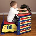 Race Track Activity Desk Set, Children Table And Chair Sets | Toddler Table And Chairs | ABaby.com