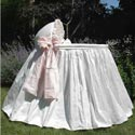 Jolie Bassinet, Baby Girl Bassinet Bedding | Baby Girl Bedding Sets | ABaby.com