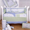 Touch of Toile Crib Bedding Set, Boy Crib Bedding | Baby Crib Bedding For Boys | ABaby.com
