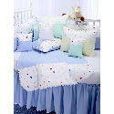Little Zoo Crib Bedding, Boy Crib Bedding | Baby Crib Bedding For Boys | ABaby.com