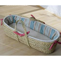 Jonathan Moses Basket, Moses Baskets With Stands | Baby Moses Baskets | ABaby.com